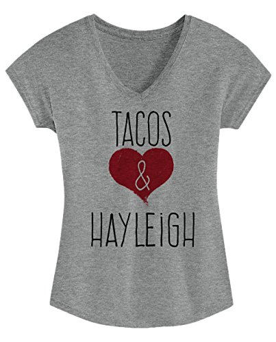 Hayleigh - Cute, Stylish Ladies' Triblend V-neck