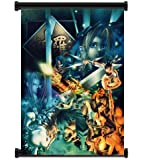"""Final Fantasy VII 7 Game Fabric Wall Scroll Poster (31""""x42"""") Inches"""