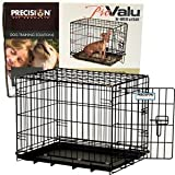 Precision Pet Black ProValu Crate 2000 24 in. x 18 in. x 19 in.