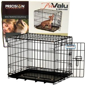 "Precision Pet ""ProValu,"" Single Door Dog Crate"