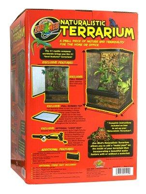 Amazon Com Zoo Med Aquatrol Inc Natural Terrarium 12x12x18 Ctg