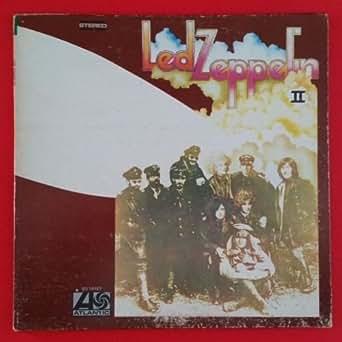 Led Zeppelin Ii Lp Vinyl Vg Cover Vg Gf Atlantic Sd