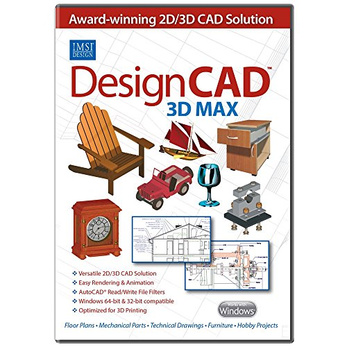 DesignCAD 3D Max v25 [Download] (Turbocad Software)