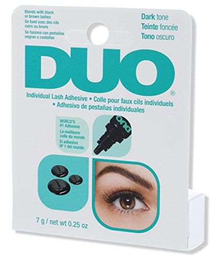 DUO Individual Lash Adhesive for Faux Individual Lash, Dark, 0.25 oz