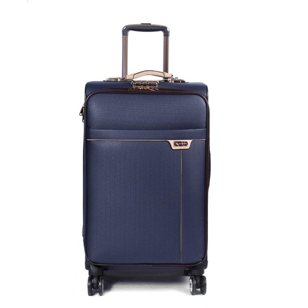 プレミアム回転ビジネスプルロッドボックスユニバーサルホイール男性と女性のスーツケースレザーケース搭乗ボックストラベルバッグ20インチ24インチ。 耐摩耗輸送ボックス (サイズ : 24) B07RVKZTTK  24