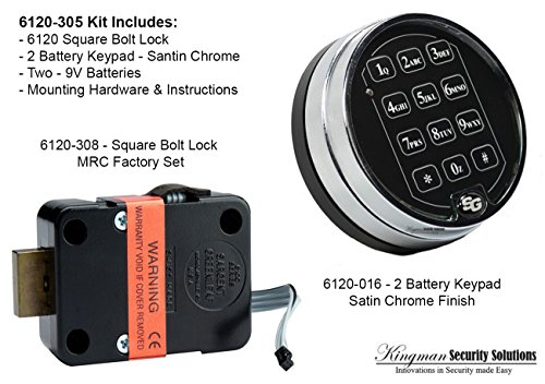Sargent & Greenleaf 6120 Electronic Safe Lock (Lock Digital Safe)