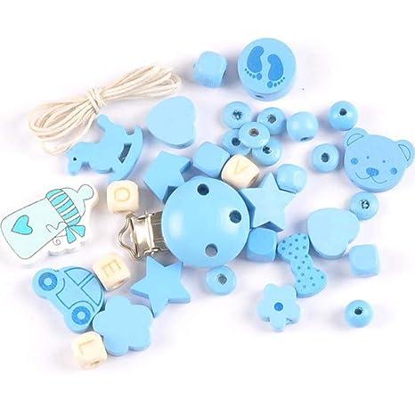 ❤ 1 juego de accesorios para hacer chupetes de cadena de ...