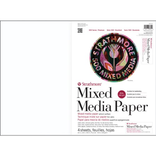 500 Series Mixed Media Sheets and Boards (Set of -