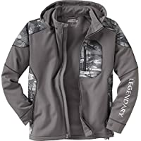 Legendary Anglers Men's Splitshot Hooded Softshell Jacket