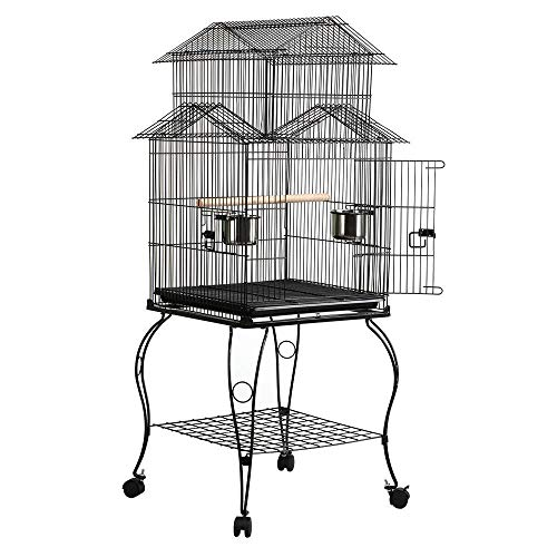 Buy metal bird cage stand