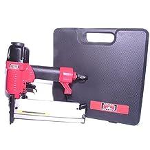 Canadian Tool and Supply Combi 18 gauge Pneumatic Brad Nailer & 1/4-Inch Narrow Crown Stapler 2-in-1 air tool kit (ANS-18)