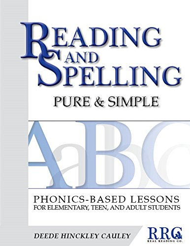 Workbook free phonics worksheets : Reading and Spelling Pure & Simple: Phonics-Based Lessons for ...