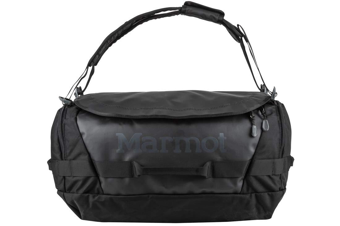 Marmot Long Hauler Medium Travel Duffel Bag, 3050ci (50 Liter), Black