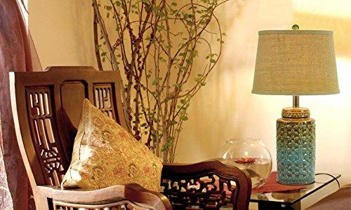 Fandbo ceramica nuova lampada da letto comodino cinese decorazione