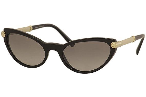 Versace 0VE4365Q Gafas de sol, Black, 54 para Mujer: Amazon ...