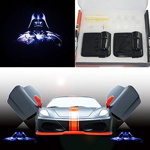 Spoya Star Wars Darth Vader - Proyector de luz láser para Puerta ...