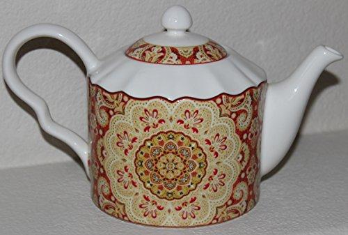 222 Fifth Lyria Saffron Teapot