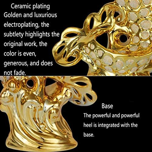 Adornos de Peces de la Suerte Artesanías de cerámica Adornos de Porcelana 3
