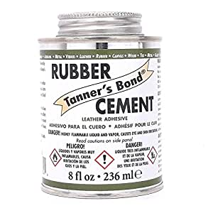 Tanners Bond Rubber Cement 8 Oz 2526-01