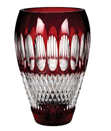 Waterford Colleen Ruby Crystal Vase 8