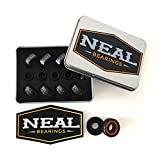 NEAL Precision Skate Bearings / 3 Different Types - Ceramic - Swiss - Titanium / 608rs - Skateboard - Longboard - Inline - Scooter. The Best Bearings GUARANTEED.