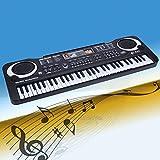 61 Key Electric Digital Piano Organ Music Electronic Keyboard w/ Microphone