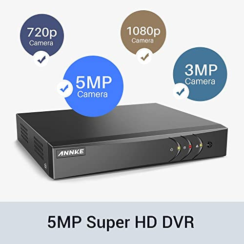 ANNKE 8CH Security System 5MP Lite DVR Recorder