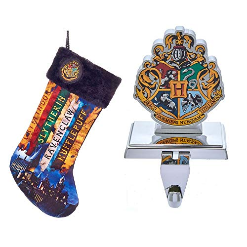 Just Funky Hogwarts Holiday Bundle with Stocking and Stocking Holder (Stocking Christmas Funky)