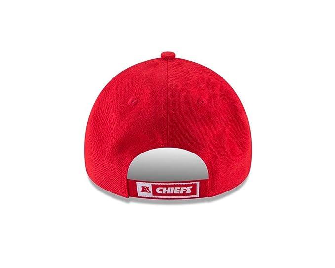 super popular 72d40 74c83 Amazon.com   New Era Kansas City Chiefs Youth NFL 9Forty The League  Adjustable Hat   Sports   Outdoors