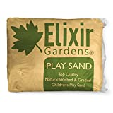 25kg Bag Top Quality Natural Washed & Graded Childrens Play Sand by Elixir Gardens