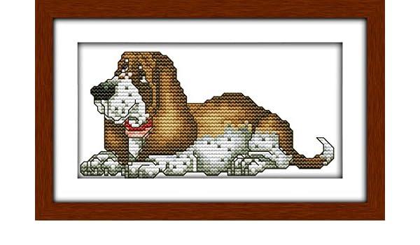 Challenger Cross Stitch Chart Kit Greyhound Dog