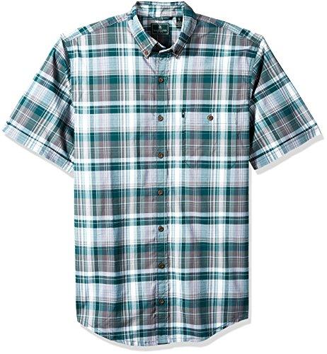 G.H. Bass & Co. Mens Big and Tall Trail Flex Short Sleeve Shirt