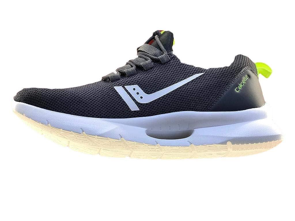 Black Rubber Sport Shoe - 11UK