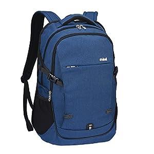 Mixi Laptop Backpack Water Resistant Unisex Rucksack Shoulder Backpacks Daypack for Business Working Hiking School Travel