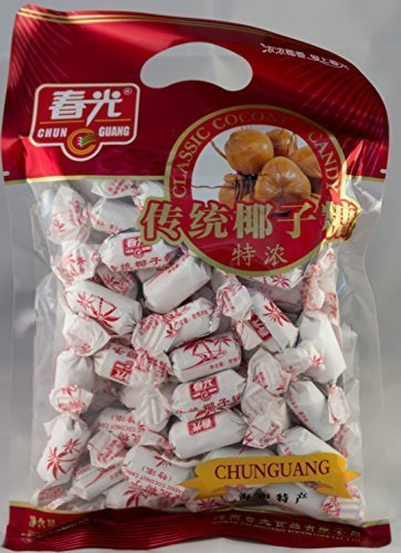Chun Guang Classic Creamy Coconut Candy 250g 8.8 oz 36 pcs From China (Premium Candy)