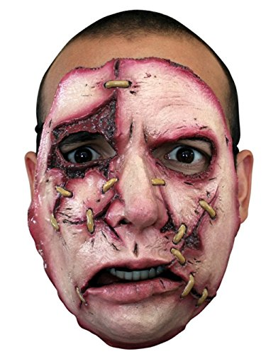 Halloween Costume - Serial Killer Face Mask #18 - Scary Creepy Death Murder