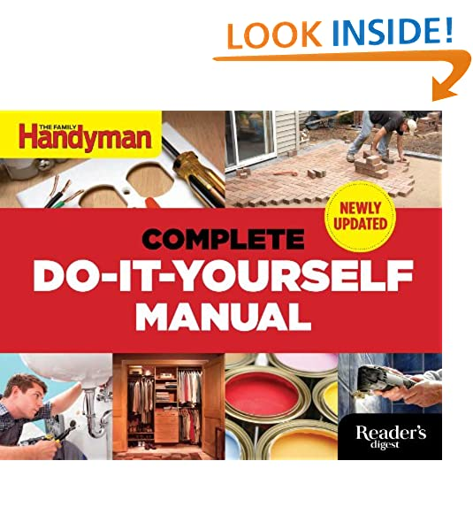 Diy book amazon the complete do it yourself manual newly updated solutioingenieria Choice Image
