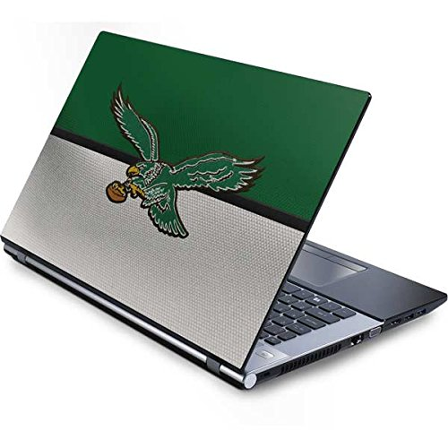 (Skinit NFL Philadelphia Eagles Generic 17in Laptop (15.2in X 9.9in) Skin - Philadelphia Eagles Vintage Design - Ultra Thin, Lightweight Vinyl Decal Protection)