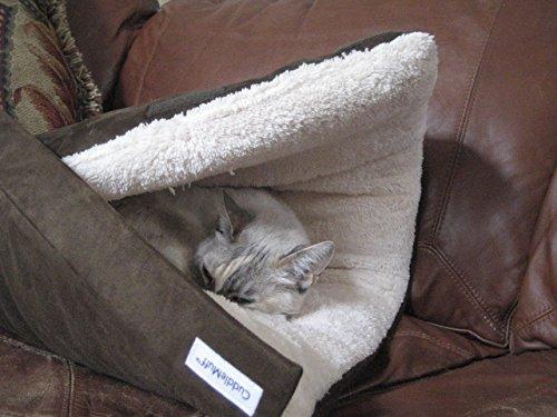 CuddleMuff Cat Dog Pet Bed