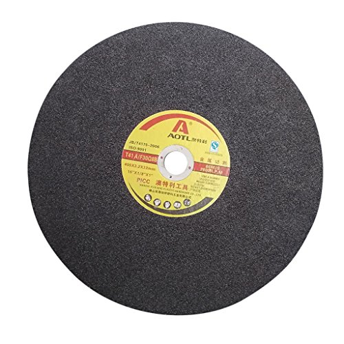 Fityle Professional Cutting Discs Grinding Wheels Cutting Machine Cut Off Wheel Metal Stainless Steel 400x3.2x32mm