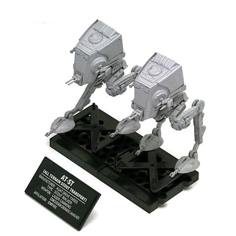 F-Toys confect DISNEY STAR WARS VEHICLE COLLECTION 6 #6 AT-ST 1/144 Scale Model Figure 1pc