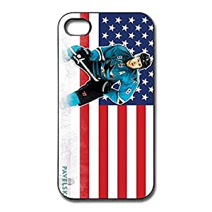 Joe Pavelski Fit Series Case Cover For IPhone 4/4s - Style Case wangjiang maoyi