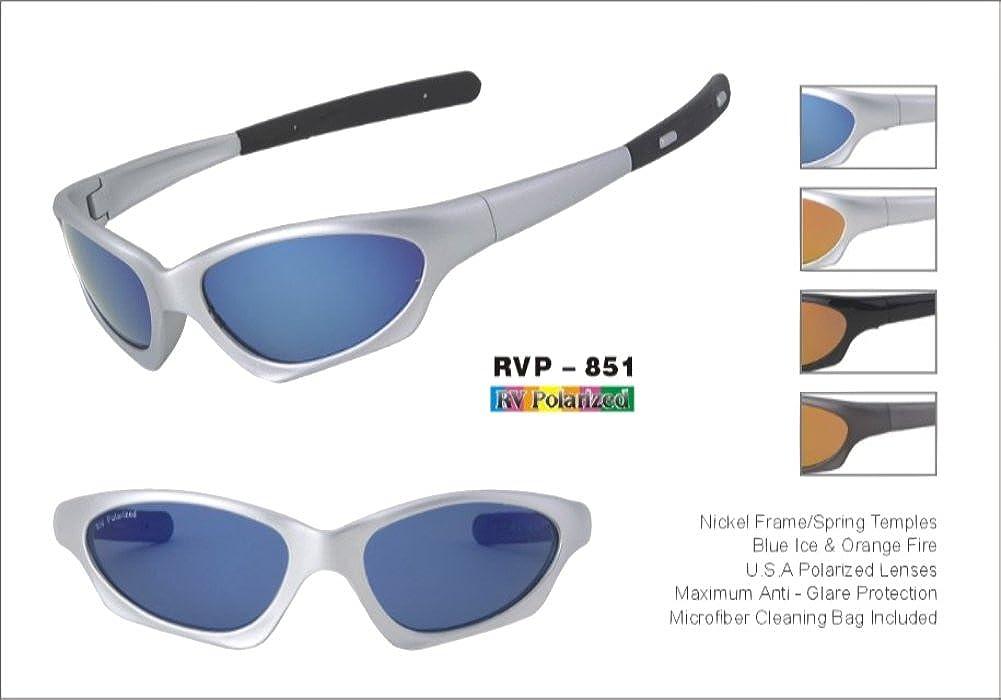 a78ff467e0 Amazon.com  RV Sport Polarized Sunglasses - Style 851  Clothing