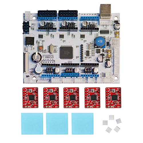 Geeetech GT2560 V3.0 Control Board Kit with 5 Pcs A4988 Stepper Motor Drivers, Supporting Filament Runout Detector and Auto Leveling Sensor, Compatible with Geeetech A10M, A20M Mix-Color Printers. by Geeetech (Image #6)