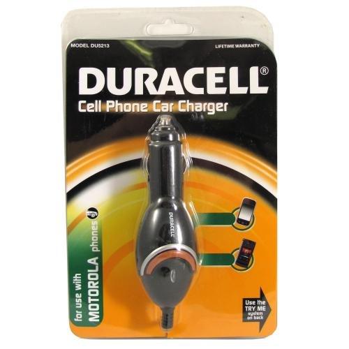 Duracell teléfono cargador de coche, Motorola (du5213 ...