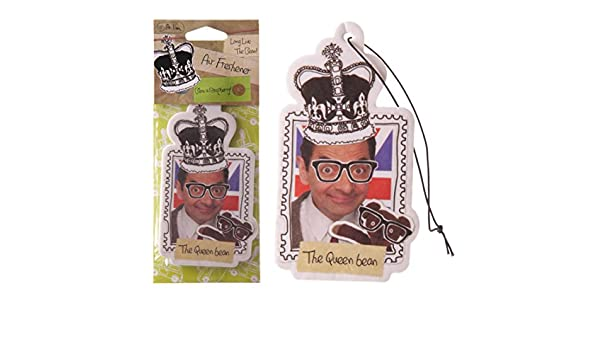 Ambientador con olor a frambuesa, diseño de Mr Bean: Amazon.es: Hogar