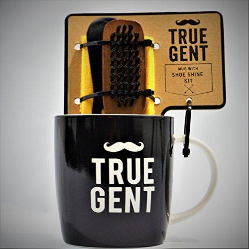 Bell & Curfew True Gent Mug & Shoe Shine Kit