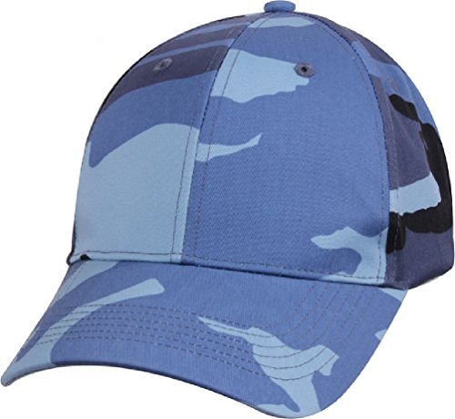 Supreme Cap Low Profile - Adult Supreme Low Profile Ball Cap Sky Blue Camo