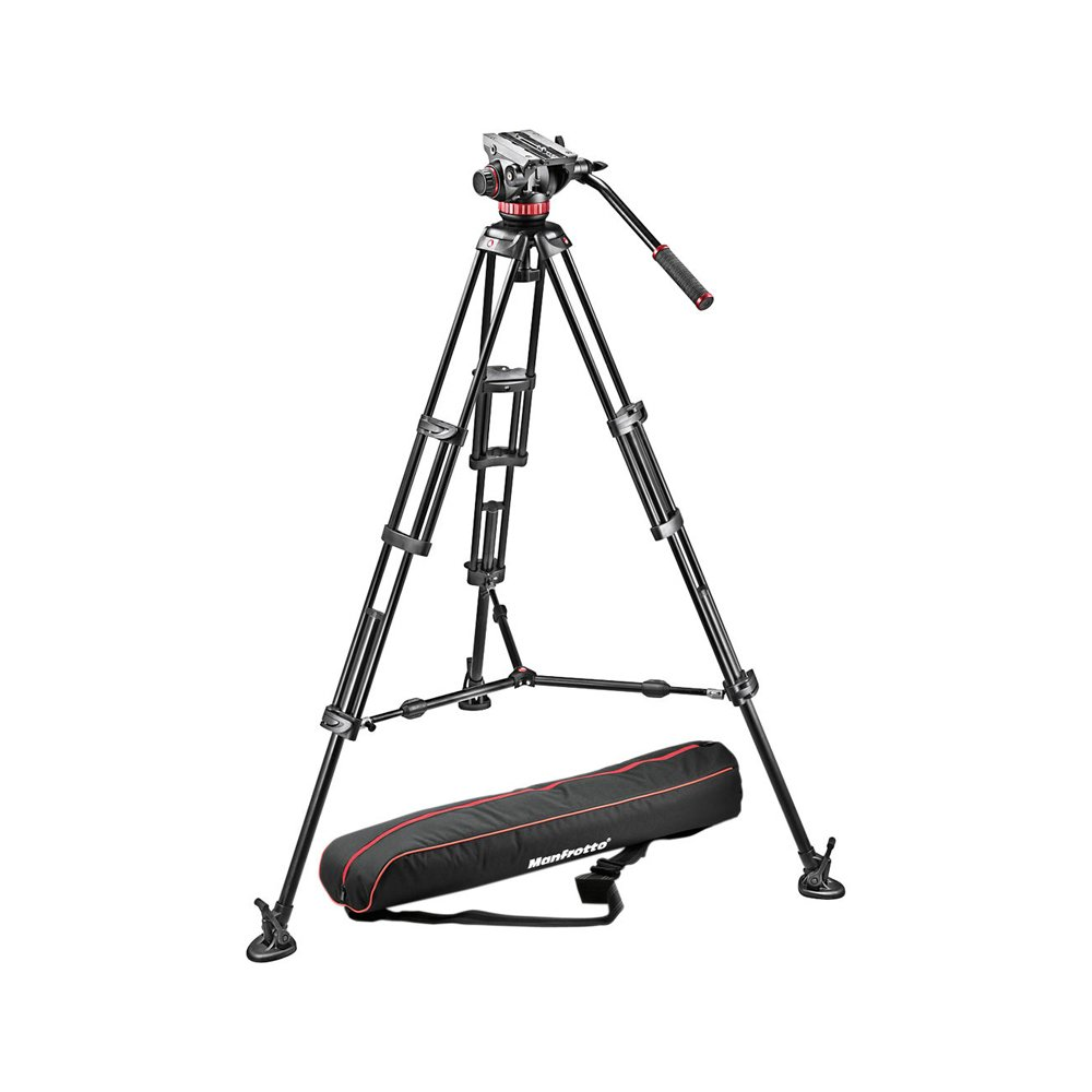 Manfrotto Mvh502a,546bk-1 Professional Fluid Video System..