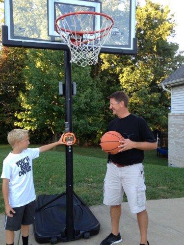 GameDay Basketball Scoreboard for Kids Portable Driveway Basketball Poles by GameDay Scoreboards